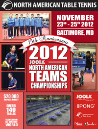 2011 North American Teams