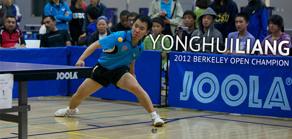 2012 Berkeley Open Champion - Yonghui Liang